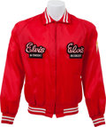 Music Memorabilia:Memorabilia, Elvis Presley - Elvis In Concert Tour Jacket with Double Front Patches (1970s)....