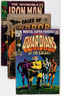 Silver to Bronze Age Low Grade Short Box Group (Various Publishers, 1960s-70s) Condition: Average GD-