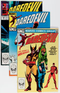 Modern Age (1980-Present):Superhero, Daredevil #192-350 Near Complete Range Box Lot (Marvel, 1983-94)Condition: Average NM-....