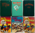 Books:Children's Books, Fred Harman. Group of Six Red Ryder Books. Racine: WhitmanPublishing, 1941-1951. Octavos. Illustrations throughout.Publish... (Total: 6 Items)