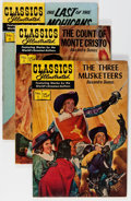 Silver Age (1956-1969):Classics Illustrated, Classics Illustrated HRN 128 and Up Short Box Group (Gilberton,1960s) Condition: Average FN-....