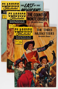 Classics Illustrated HRN 128 and Up Short Box Group (Gilberton, 1960s) Condition: Average FN-