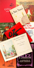 Books:Children's Books, [Children's]. Group of Nine Children's Books. Includes two Eloisebooks by Kay Thompson, an illustrated French edition of ...(Total: 9 Items)
