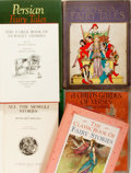 Books:Children's Books, [Children's]. Group of Six Children's Books of Fairy Tales.Includes an early edition of All the Mowgli Stories byRudya... (Total: 6 Items)