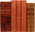 Books:Literature Pre-1900, Group of Seven Novels by William Harrison Ainsworth and WilliamMakepeace Thackeray. London: Routledge and Bradbury and Evan...(Total: 7 Items)