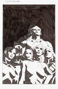 Original Comic Art:Covers, Tomm Coker Exiles #95 Cover Original Art (Marvel, 2007)....