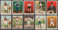 "Boxing Cards:General, 1910 T220 Mecca ""Boxing"" Complete Set (50) Plus Three Scarce SilverBorder Variations. ..."