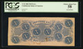 Confederate Notes:1862 Issues, Inverted Back Error T52 $10 1862 PF-9IB Cr. 373IB.. ...