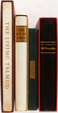 Books:Religion & Theology, [Limited Editions Club]. Group of Four SIGNED/LIMITED Religiously and Mythologically Themed Texts. New York: LEC, [1958-1962... (Total: 4 Items)