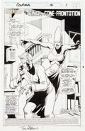 "Original Comic Art:Panel Pages, Tom Richmond and Marie Severin Coneheads #4 ""The FinalCone-Frontation"" Page Original Art Group (Marvel, 1994).... (Total:16 Items)"