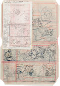 Original Comic Art:Miscellaneous, Winnie the Pooh #15, Chip 'n' Dale #38 and LooneyTunes #4 Story Preliminary Original Art Grou... (Total: 57Items)