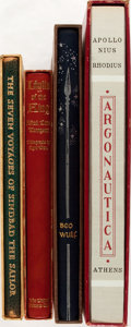 Books:Literature Pre-1900, [Limited Editions Club]. Group of Four SIGNED/LIMITED Epic Poemsand Tales. New York/Athens: LEC, [1949-1957]. Includes Se...(Total: 4 Items)