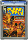 Magazines:Science-Fiction, Planet of the Apes #2 (Marvel, 1974) CGC NM+ 9.6 White pages....