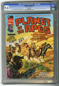 Magazines:Science-Fiction, Planet of the Apes #6 (Marvel, 1975) CGC NM+ 9.6 White pages....