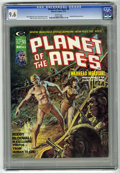 Magazines:Science-Fiction, Planet of the Apes #8 (Marvel, 1975) CGC NM+ 9.6 White pages....