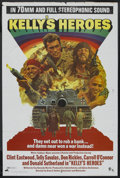 "Movie Posters:War, Kelly's Heroes (MGM, 1970). One Sheet (27"" X 41"") Road Show. War...."