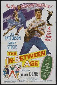 "The In-Between Age (Allied Artists, 1958). One Sheet (27"" X 41""). Rock and Roll"