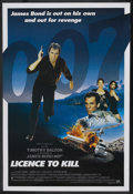 "Movie Posters:James Bond, Licence to Kill (United Artists, 1989). One Sheet (27"" X 41"").James Bond. ..."