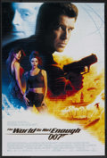 "Movie Posters:James Bond, The World is Not Enough (MGM, 1999). One Sheet (27"" X 40"") SS.James Bond. ..."