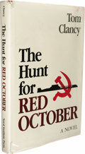 Books:Signed Editions, Tom Clancy: Signed First Edition of The Hunt for Red October(Annapolis, Maryland: Naval Institute Press, 1984), first e...(Total: 1 Item)