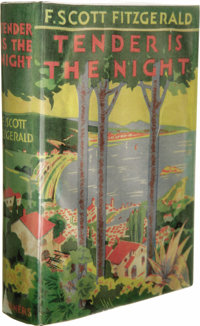 F. Scott Fitzgerald: Signed Tender is the Night (New York: Charles Scribner's Sons, 1934), second printing, 408 pages, d...