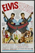 "Movie Posters:Elvis Presley, Double Trouble (MGM, 1967). One Sheet (27"" X 41""). Elvis Presley...."