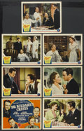 "Movie Posters:Drama, Dr. Kildare's Crisis (MGM, 1940). Title Lobby Card and Lobby Cards (6) (11"" X 14""). Drama. ... (Total: 7 Items)"