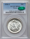Commemorative Silver, 1936 SET Texas PDS Set MS66 PCGS. CAC. ... (Total: 3 coins)