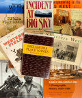 Books:Americana & American History, Group of Nine Items Related to Western Americana. Includes sevenbooks and two periodicals. Various publishers, twentieth ce...(Total: 9 Items)