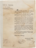 Miscellaneous:Ephemera, Notice of Tax Increase on Imports to Coahuila and Texas....