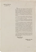 Miscellaneous:Ephemera, [Broadside]. Juan Martin de Veramendi: Convention at ZavaletaGiving Instructions for New Elections....