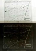 Books:Maps & Atlases, [American Heritage]. Reproduction Photograph and Negative Transparency of a Map of The Spanish Presidio at San Antonio, Texas ...
