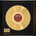 Music Memorabilia:Awards, Rolling Stones The Rolling Stones 12 x 5 Gold Record Award(London 3402, 1964)....