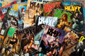 Books:Science Fiction & Fantasy, [Fantasy, Adult]. Group of Twenty-Seven Issues of Heavy Metal Magazine. New York: HM Communications, 1979-2011. Some... (Total: 27 Items)