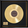 Music Memorabilia:Awards, Buddy Holly and the Crickets The Buddy Holly Story GoldRecord Award (Coral 57279, 1959)....
