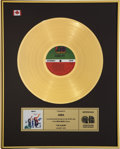 Music Memorabilia:Awards, ABBA The Album CRIA Gold Record Award (Atlantic 19164,1977). ...