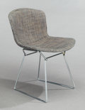 Sculpture, HARRY BERTOIA (American, 1915-1978). Side Chair, 1952. Welded steel and fabric. 28-3/4 x 21-3/4 x 19-3/4 inches (73.0 x ...