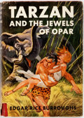 Books:Science Fiction & Fantasy, Edgar Rice Burroughs. Tarzan and the Jewels of Opar. New York: Grosset & Dunlap, [1918]. Reprint. Publisher's cloth ...