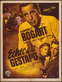 """All Through the Night (Warner Brothers, 1949). French Affiche (23.5"""" X 31.5""""). Film Noir"""