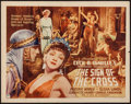 """Movie Posters:Drama, The Sign of the Cross (Paramount, R-1944). Half Sheet (22"""" X 28"""") Style A. Drama.. ..."""