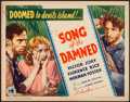 "Movie Posters:Adventure, Escape from Devil's Island (Columbia, 1935). Title Lobby Card (11""X 14"") Alternate Title: Song of the Damned. Adventure..."
