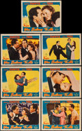 """Movie Posters:Romance, You Belong to Me (Columbia, 1941). Lobby Cards (7) (11"""" X 14""""). Romance.. ... (Total: 7 Items)"""