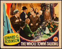 "The Whole Town's Talking (Columbia, 1935). Lobby Card (11"" X 14""). Comedy"