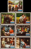 "Movie Posters:War, Three Came Home (20th Century Fox, 1949). Lobby Cards (7) (11"" X14""). War.. ... (Total: 7 Items)"