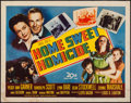 """Movie Posters:Comedy, Home Sweet Homicide (20th Century Fox, 1945). Half Sheet (22"""" X 28""""). Comedy.. ..."""