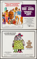"Movie Posters:Foreign, La Cage Aux Folles & Other Lot (United Artists, 1979). Half Sheets (2) (22"" X 28""). Foreign.. ... (Total: 2 Items)"