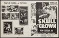 "Movie Posters:Adventure, Skull and Crown (Reliable, 1935 & Screencraft, R-1930s). ArtPhotos (13) (8"" X 10"") & Uncut Pressbook (4 Pages, 8.5"" X11"").... (Total: 14 Items)"