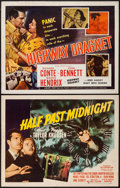 """Movie Posters:Crime, Highway Dragnet & Other Lot (Allied Artists, 1954). Half Sheets(2) (22"""" X 28""""). Crime.. ... (Total: 2 Items)"""