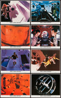 "Movie Posters:Science Fiction, 2001: A Space Odyssey (MGM, 1968). Mini Lobby Card Set of 8 (8"" X10""). Science Fiction.. ... (Total: 8 Items)"