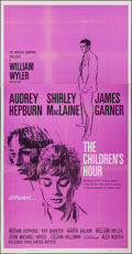 "Movie Posters:Drama, The Children's Hour (United Artists, 1962). Three Sheet (41"" X79""). Drama.. ..."